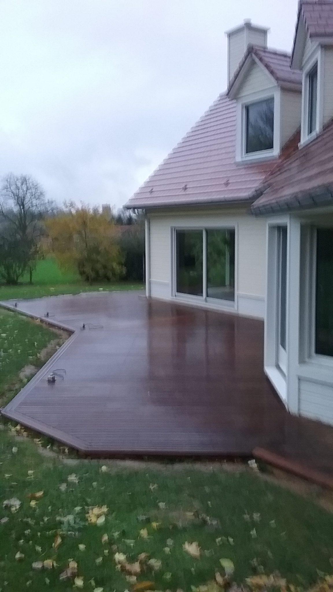 réalisation parquet terrasse bois exotique le parqueteur 02100 Saint-Quentin