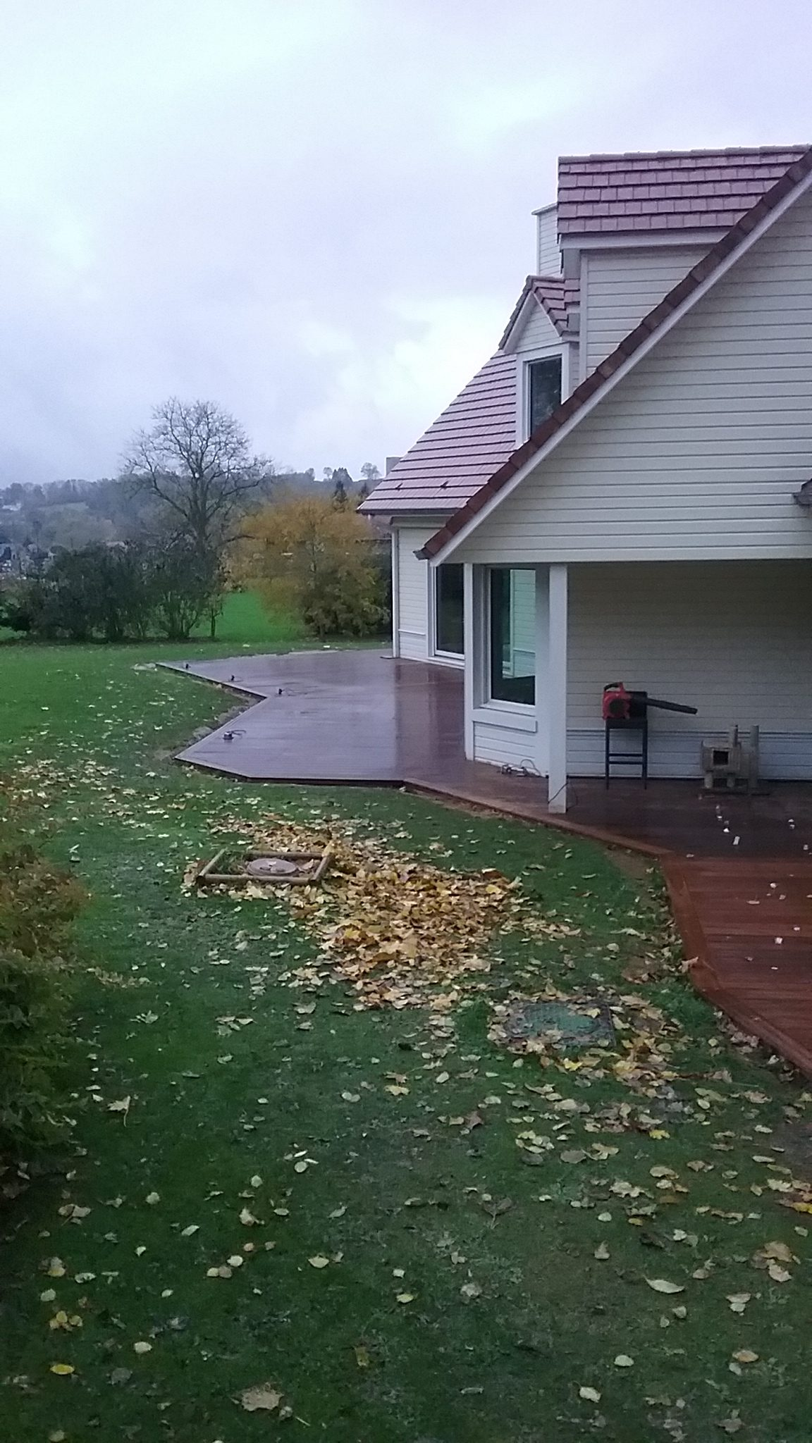 réalisation parquet terrasse bois 02100 Saint-Quentin