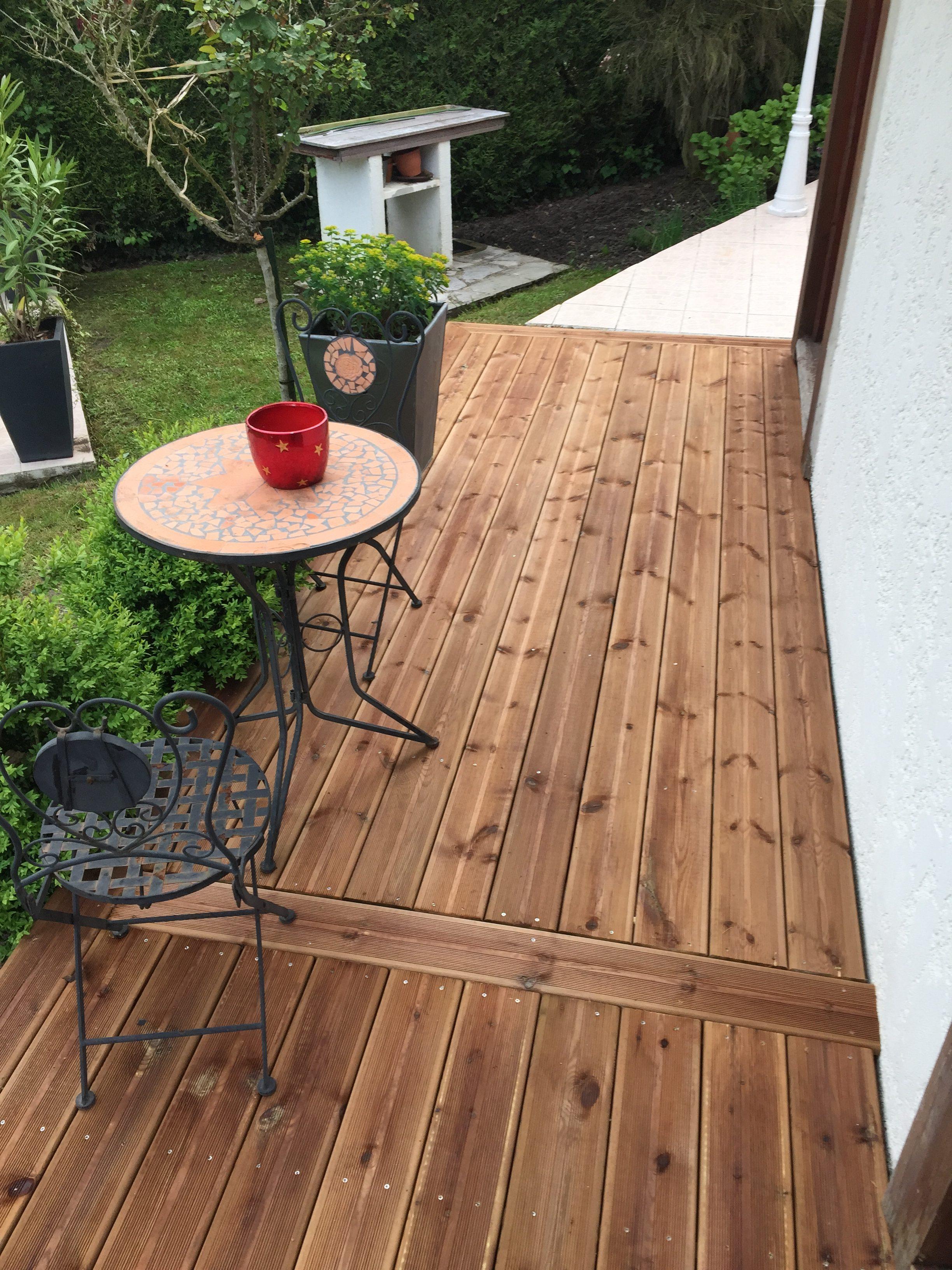 Réalisation terrasse extérieur 02100 Saint-Quentin