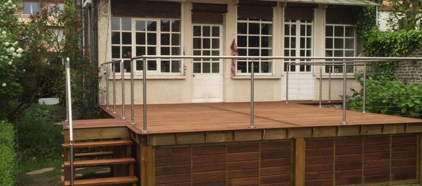 le parqueteur 02100 réalisation de terrasse en bois