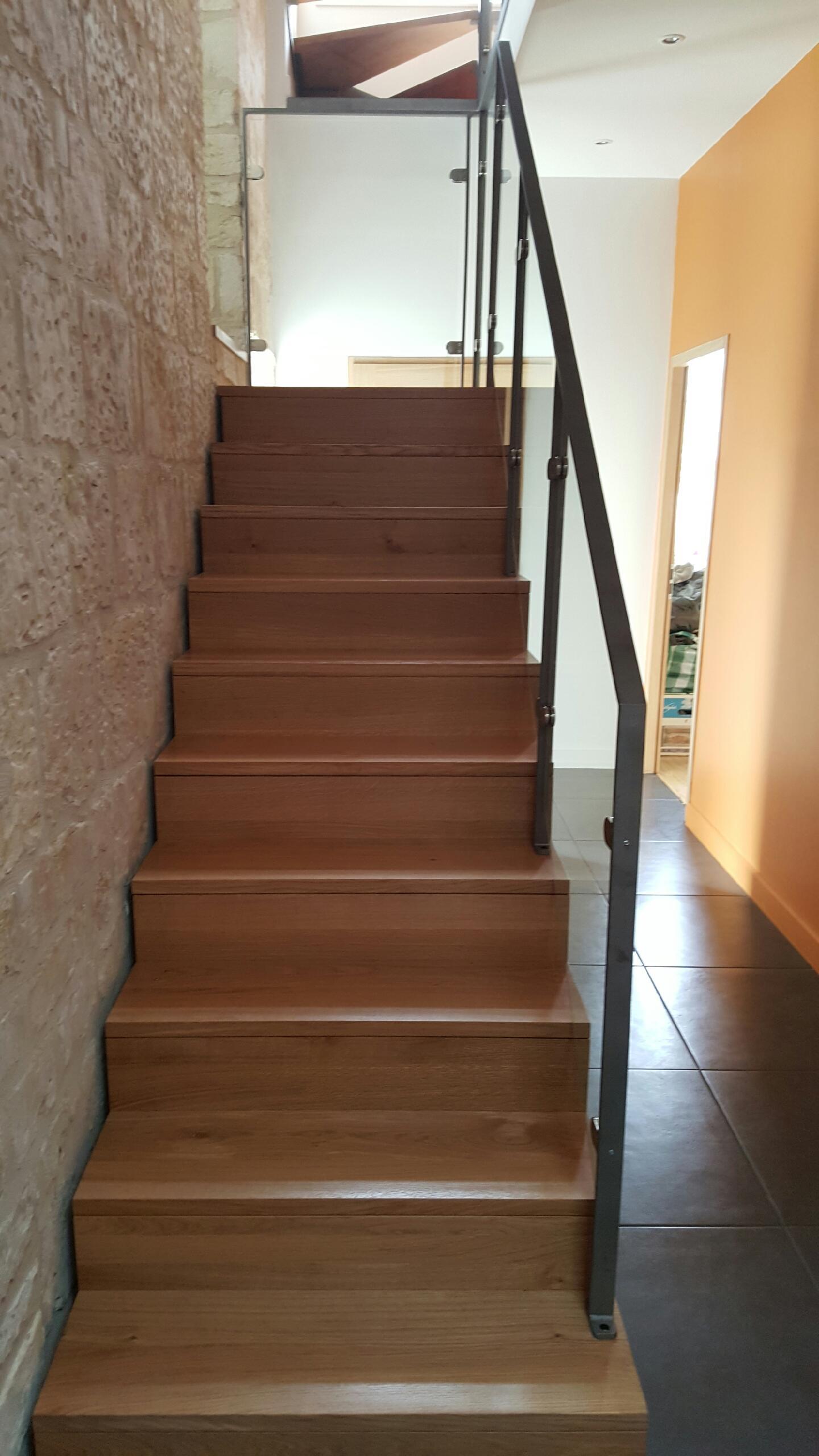 escalier réalisation le parqueteur saint-quentin